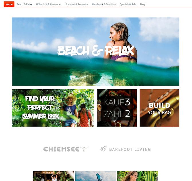 Shopware Onlineshop